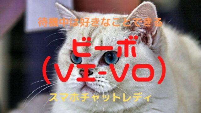 【2021年】スマホチャットレディVI-VO(ビーボ) 待機映像が流れない!